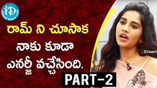 Actress Nabha Natesh Exclusive Interview - Part #2 || Talking Movies With iDream - IDREAMMOVIES