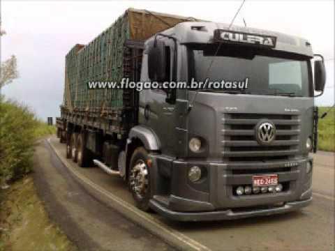 video de caminhões