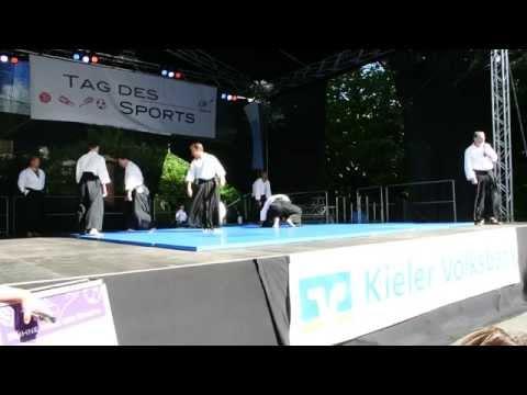 Tendoryu Aikido - Tag des Sportes 2015 Kiel - NDR Bühne