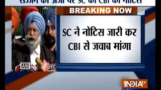 SC seeks CBI reply on an appeal filed by Sajjan Kumar challenging Delhi HC verdict - INDIATV