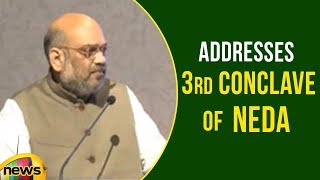 Amit Shah Addresses 3rd conclave of North East Democratic Alliance NEDA in Guwahati | Mango News - MANGONEWS