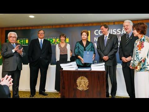 Comissão da Verdade: Presidenta Dilma recebe relatório final