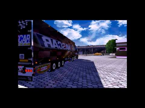 ets2 peterbit 387 team nascar