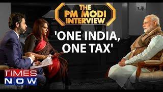 PM Narendra Modi On 'One India One Tax' - TIMESNOWONLINE