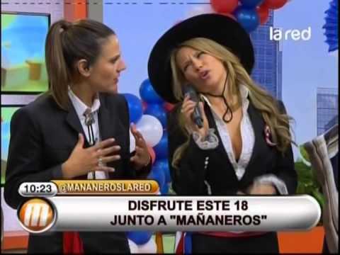 Aynara Eder visita Mañaneros