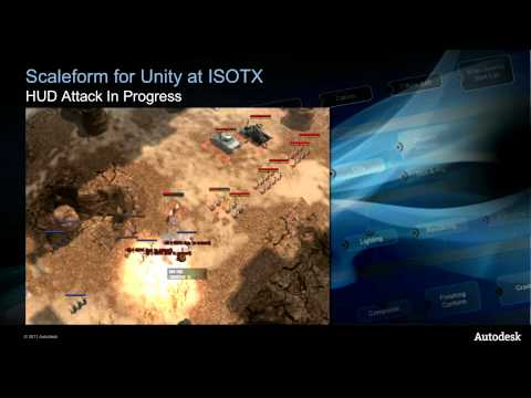 March of War: Unity and Autodesk scaleform
