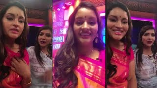 Renu Desai With Manchu Lakshmi Interacted With Fans In Instagram Live Video - RAJSHRITELUGU