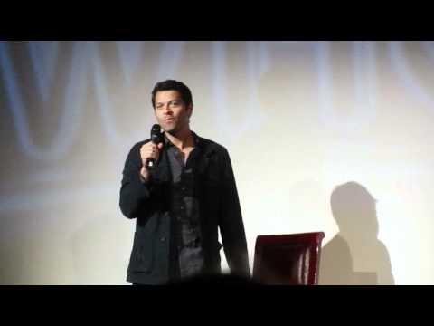 Misha Collins Panel - Supernatural Convention Germany AECON 3