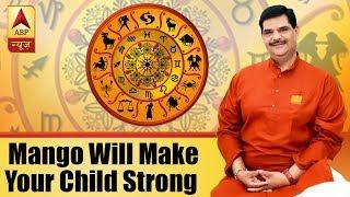 GuruJi With Pawan Sinha: Parenting tips: Mango pulp with milk will make your child strong - ABPNEWSTV