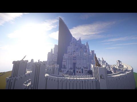 Minecraft: DEVASA YAPILAR #2 - MINAS TIRITH!