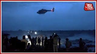 Shivpuri के सुल्तानगढ में पवित्रा नदी की धार में फसे 30 लोग ! खबरदार - AAJTAKTV