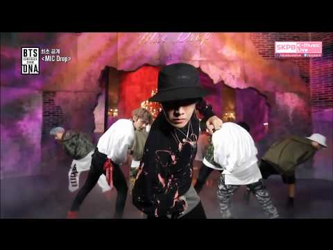 """BTS """"Mic drop"""" - w tle słychać krzyczące fanki... jak kiedyś na Beatlesach."""
