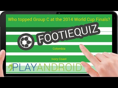 FOOTIEQUIZ ᴴᴰ ►Know all the things!◄ FootieQuiz Review ⁞Test⁞ ⁞Gameplay⁞