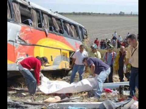 Accidentes de Autobuses en México 4 primera parte