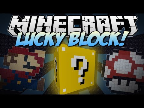 Minecraft   LUCKY BLOCK! (Thousands of Random Possibilities!)   Mod Showcase