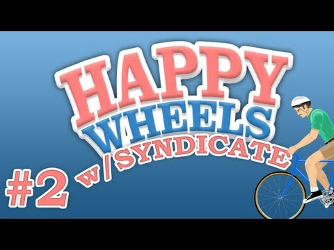 "Happy Wheels w/Syndicate | Episode #2 ""The Combine v2.1"