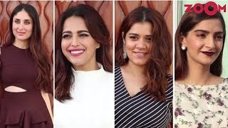 Kareena, Sonam, Swara & Shikha Add Glamour As They Promote 'Veere Di Wedding' In Style - ZOOMDEKHO