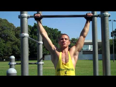 Chin ups workout for beginners (Pull Ups)