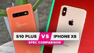 Galaxy S10 vs. iPhone XS: Spec comparison - CNETTV