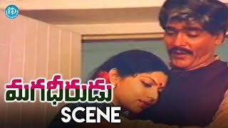 Magadheerudu Movie Scenes - Kaikala Satyanarayana Felts Happy About His Sons || Chiranjeevi - IDREAMMOVIES