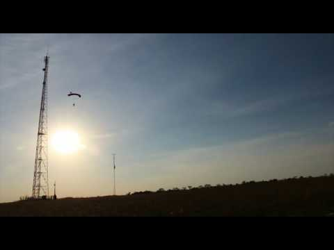 Bodyflight - BASE Jump Antenna 70m