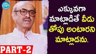 Venky Mama Producer Suresh Babu Full Interview Part - #2 || Talking Movies With iDream - IDREAMMOVIES
