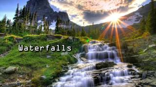 Royalty FreeBackground:Waterfalls