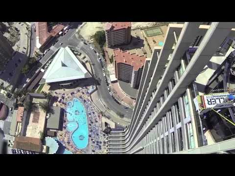 BASE jumping Benidorm Competition