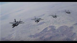 El F-35 derrota a 100 aviones en ejercicios simulados