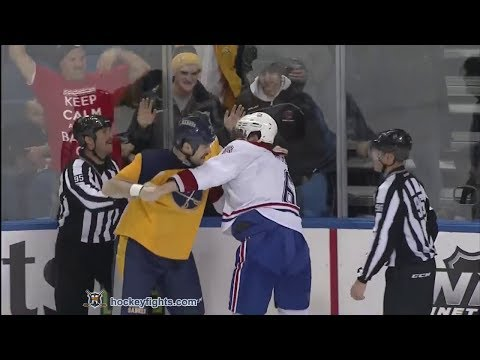 Douglas Murray vs John Scott Nov 27, 2013