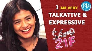 I Am Very Talkative And Expressive - Kumari 21F Actress Hebah Patel || Talking Movies with iDream - IDREAMMOVIES