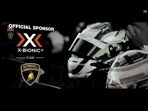 X-BIONIC For Automobili Lamborghini Super Trofeo Official Pilot Jacket 2014 Video