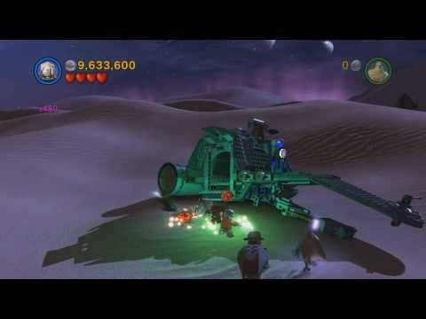 Lego Star Wars III The Clone Wars Gameplay Castle of Doom Secret Mission Full HD 1080 p