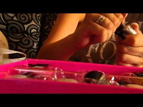 ASMR caviar manicure/asrm español manicura caviar
