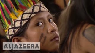 Pope Francis defends indigenous groups in Peru - ALJAZEERAENGLISH