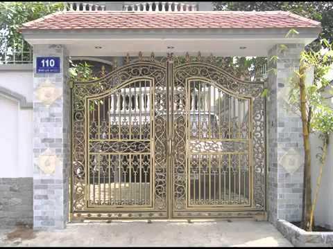 Mẫu cổng đẹp, mẫu hàng rào đẹp, mau hang rao dep, mau cong sat dep, mau cong dep,