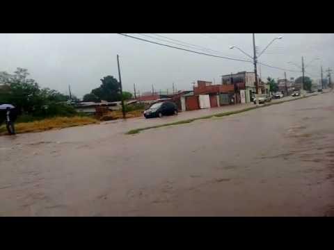Enchente na Avenida Paranapanema