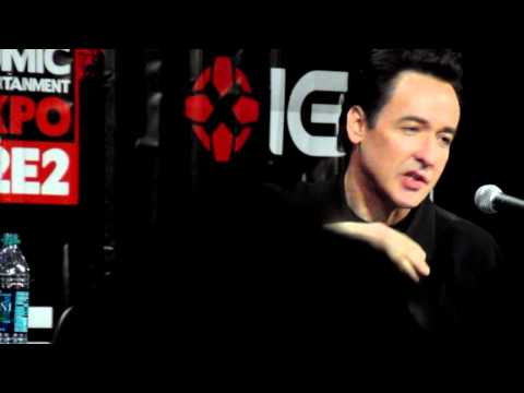 John Cusack talks