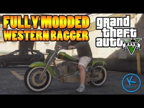 GTA 5 Fully Modified: WESTERN BAGGER