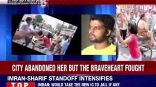 Brave woman from Meerut fights of husband's attackers - NEWSXLIVE