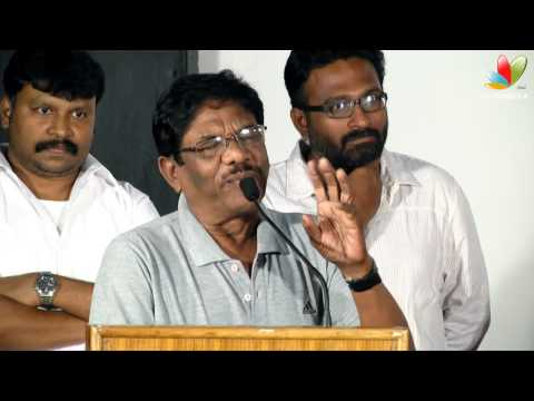 Bharathiraja Speech at Taramani Single Track Launch | Director Ram, Andrea, Kamal Hassan