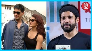 Sidharth – Jacqueline No More On Talking Terms   Farhan Talks About Censorship On Films - ZOOMDEKHO