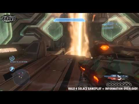 Halo 4 Solace Gameplay + INFO OVERLOAD!