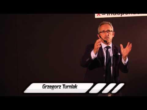 Wystąpienie Grzegorza Turniaka podcza TEDx WSB