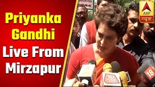 There is an expiry date for their 70 years chant, says Priyanka Gandhi in Bhadohi - ABPNEWSTV