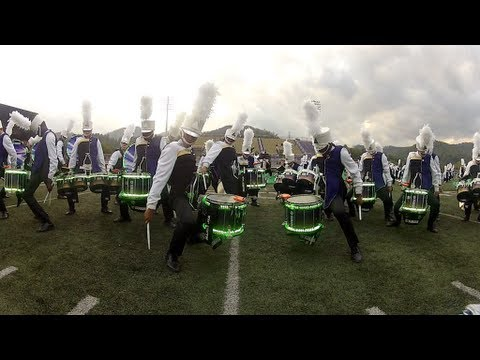 Western Carolina University's Pride of the Mountains Marching Band - &quot;How We Roll&quot; Homecoming 2012