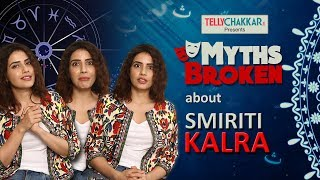 Smiriti Kalra opens up about her bond with Shivin Narang | Myths Broken | Exclusive | TellyChakkar - TELLYCHAKKAR
