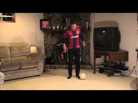 At Home Soccer Skills and Drills: Exercise #2 - Push and Pull