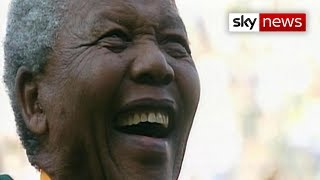 Nelson Mandela Day: Former president remembered - SKYNEWS