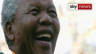 Nelson Mandela Day: Former president remembered - SKYNEWS